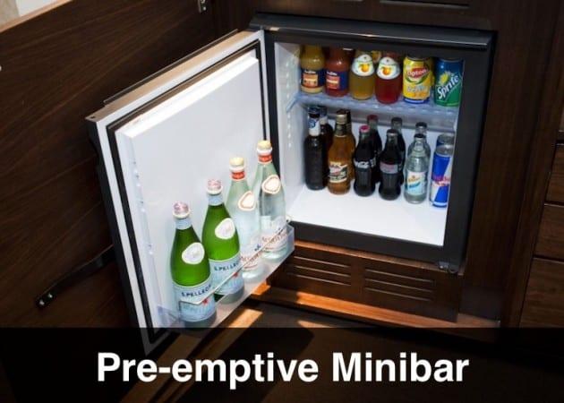The Pre-emptive Minibar!